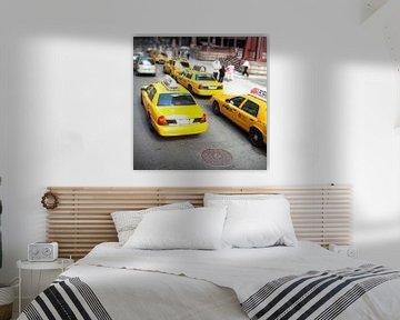 New York Taxi - Yellow Cab van Niels van Houten