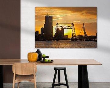 Coucher de soleil à Hef Rotterdam