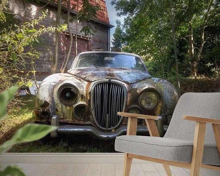 Beispiel fototapete: Verlorene Jaguar. von Roman Robroek