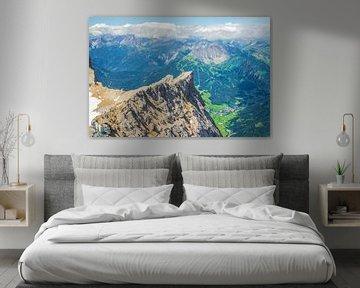 De top van Zugspitze berg RawBird Photo's Wouter Putter sur Rawbird Photo's Wouter Putter