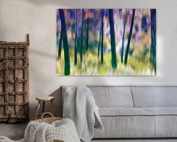 Silent forest van Nannie van der Wal