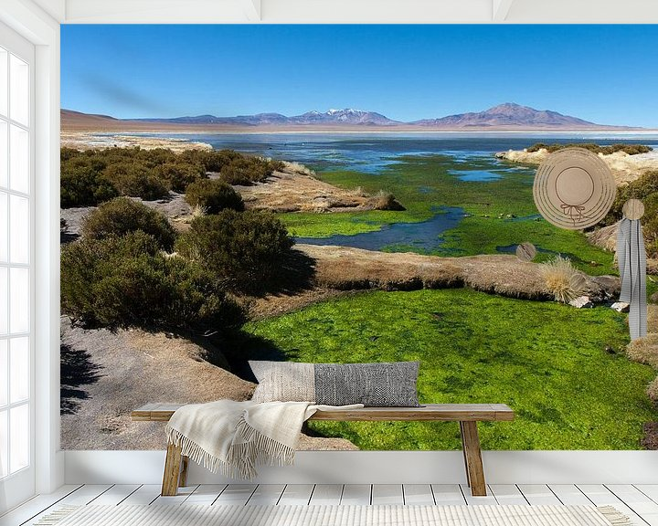 Sfeerimpressie behang: Woestijn in Chili van Robbie Veldwijk
