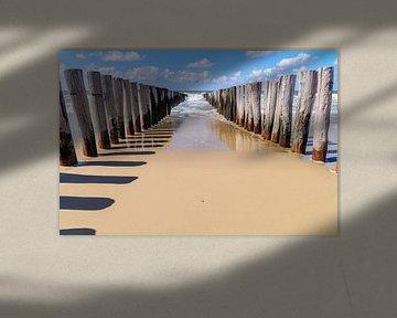 Strand Domburg van 7Horses Photography