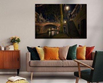 Grachten in Utrecht van Edwin Mooijaart