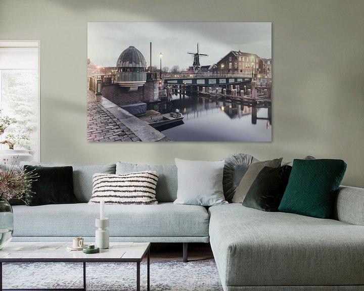 Sfeerimpressie: Haarlem: Catharijnebrug. van Olaf Kramer