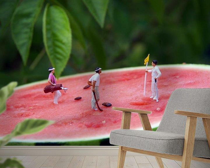 Beispiel fototapete: Melon Open von Ulrike Schopp