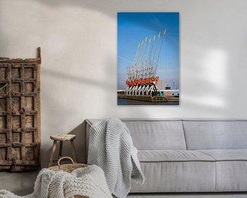 Rotterdam, havenkranen van Arnoud Kunst