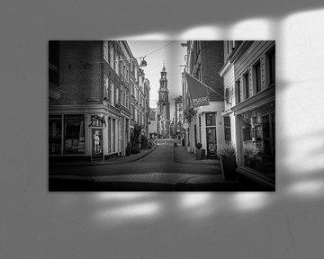 Eerste Leliedwarsstraat - Westertoren van Hugo Lingeman