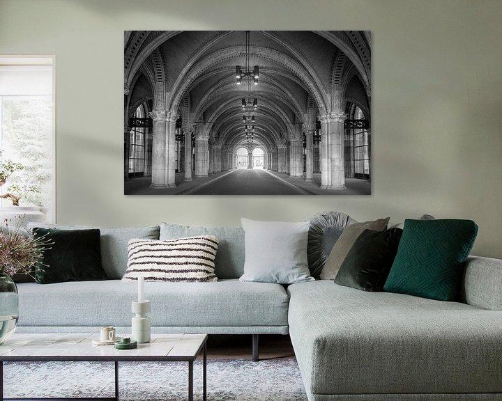 Sfeerimpressie: Fietstunnel - Rijksmuseum van Hugo Lingeman