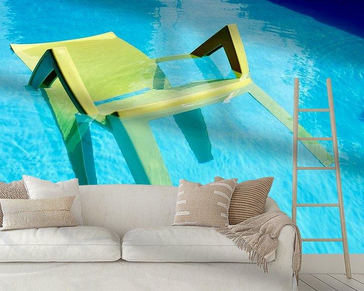 Sfeerimpressie behang: A Cool Chair van 7Horses Photography
