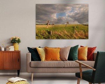 Een gat in de wolken... van Maarten Honinx