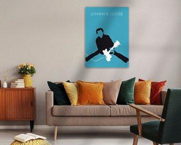 No015 MY Chuck Berry Minimal Music poster van Chungkong Art