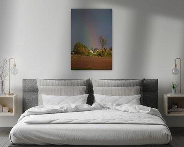 Dorp in de regenboog van Maarten Honinx