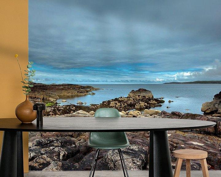Sfeerimpressie behang: Monding van Loch Ewe - Schotland van Jeroen(JAC) de Jong