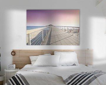 Seebrücke Timmendorfer Strand von Ursula Reins