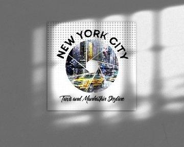 Graphic Art NEW YORK CITY van Melanie Viola