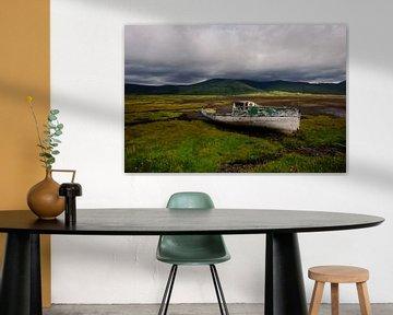 Oude boot - Isle of Mull - Schotland van Jeroen(JAC) de Jong