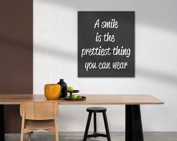 Smile Canvas van Pim Michels