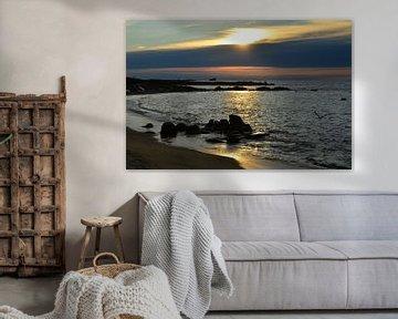 Landrellec, Sunset in Brittany van 7Horses Photography