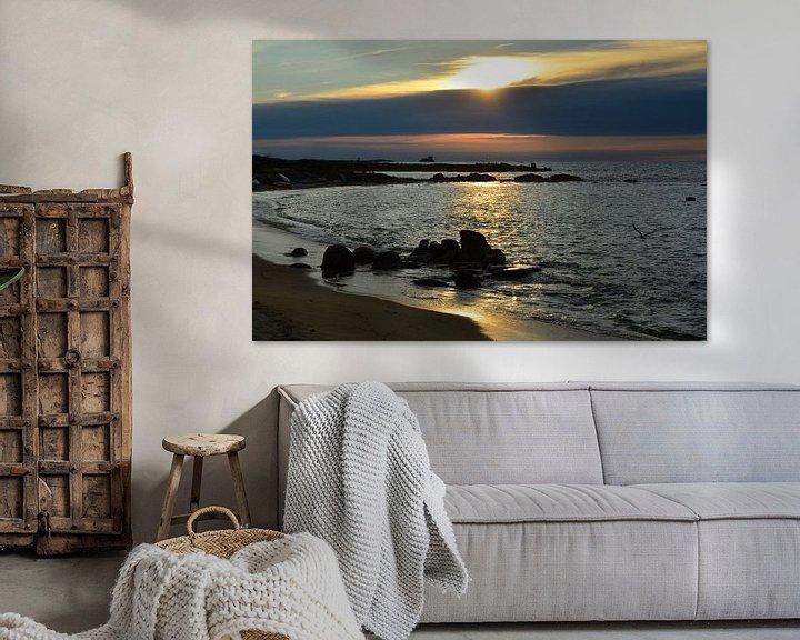 Sfeerimpressie: Landrellec, Sunset in Brittany van 7Horses Photography