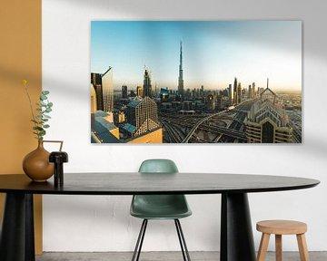 Dubai Skyline III sur Dennis Wierenga