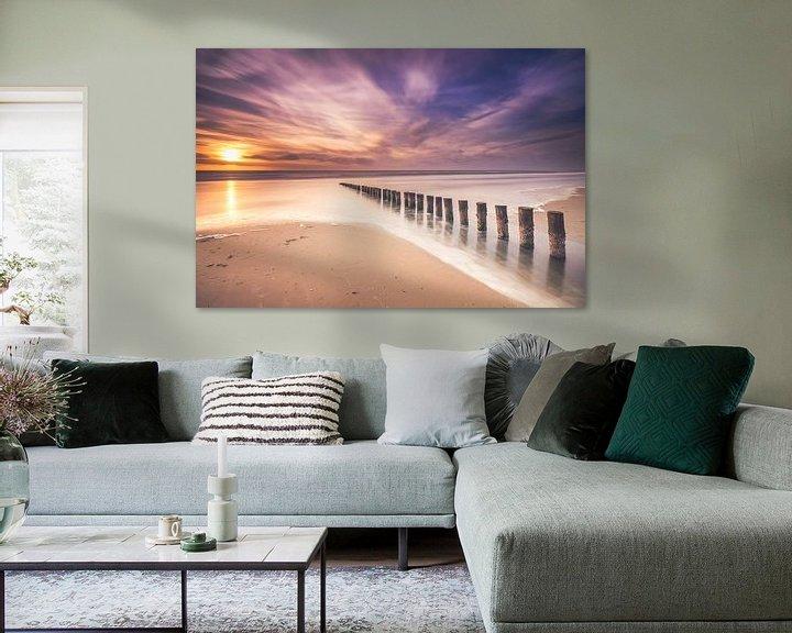 Sfeerimpressie: Long exposure at the beach van Niels Barto