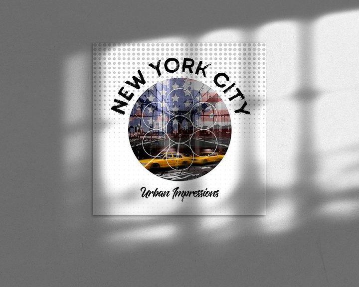 Beispiel: Graphic Art NEW YORK CITY Urbane Impressionen  von Melanie Viola