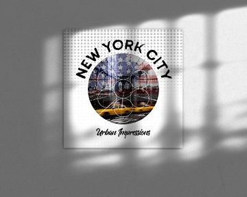 Graphic Art NEW YORK CITY Urbane Impressionen  von Melanie Viola
