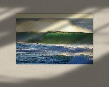 Tonel sunset surf van massimo pardini