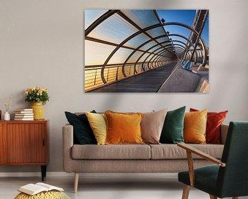 Bridge in Spain, Zaragoza von Lorena Cirstea