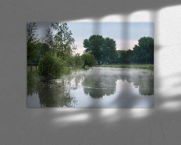 Ochtendnevel op de Kromme Rijn