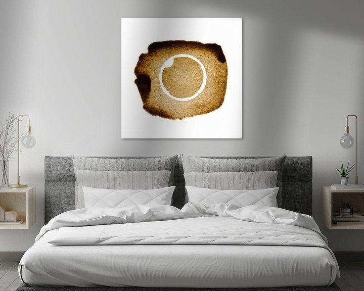 Sfeerimpressie: The inverse Coffee stain van Ricardo Bouman