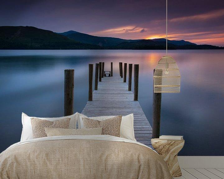 Sfeerimpressie behang: Classic lake view van Marcel Kerkhof
