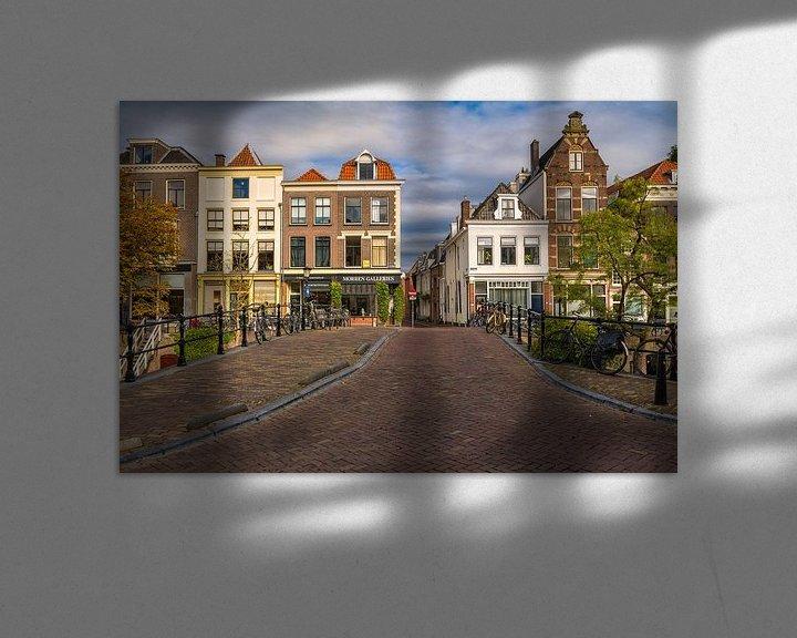 Sfeerimpressie: Utrecht - Oudegracht van Thomas van Galen