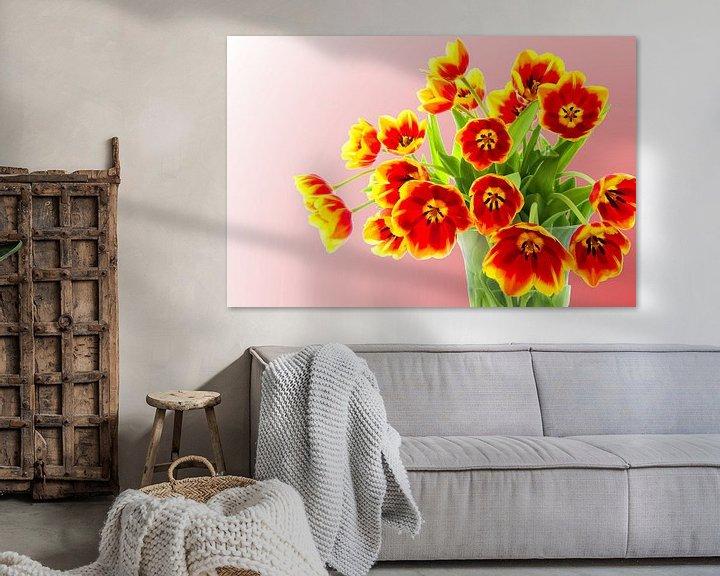 Sfeerimpressie: Boeket tulpen van 7Horses Photography