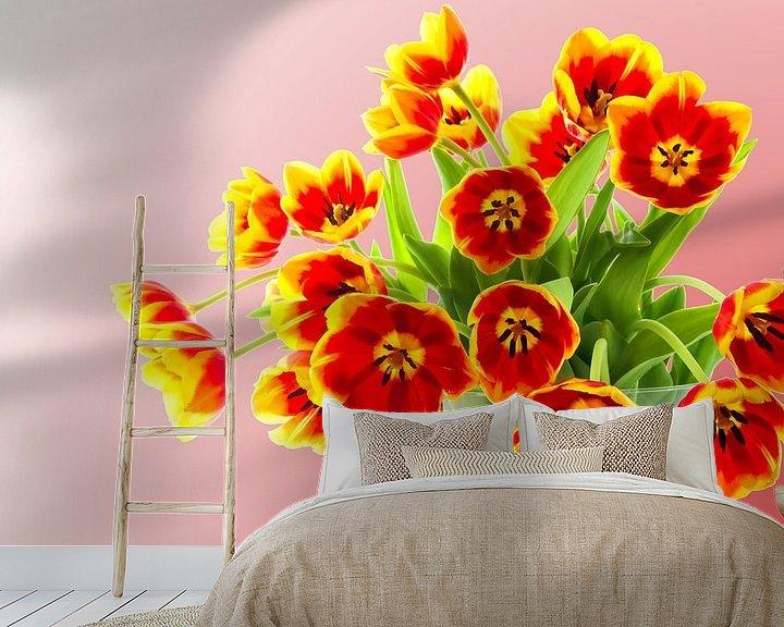 Sfeerimpressie behang: Boeket tulpen van 7Horses Photography