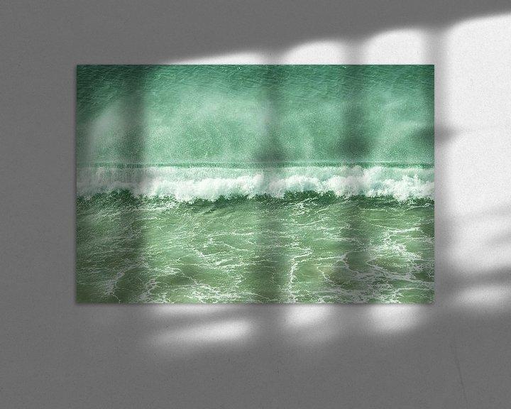 Beispiel: breaking wave von Tina Hartung