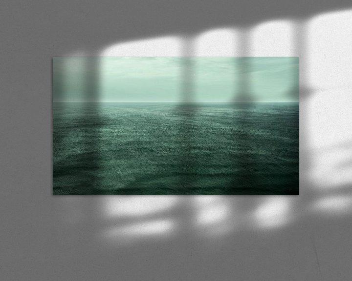 Beispiel: well, the ocean von Tina Hartung