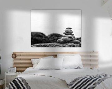 In balance, black and white van Lex Schulte