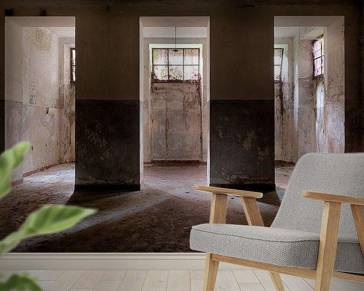 Sfeerimpressie behang: Lichtval van Maikel Brands