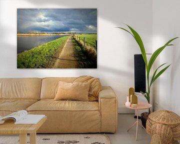 Polder landschap van Anita van Gendt