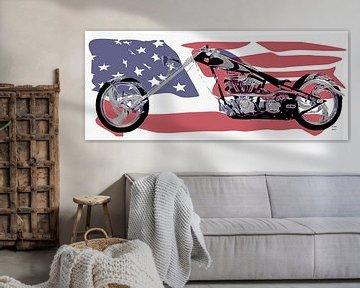 American Chopper van ! Grobie