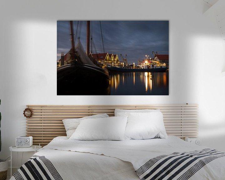 Sfeerimpressie: Haven van Oudeschild op Texel. Harbor of Oudeschild, Texel. van Justin Sinner Pictures ( Fotograaf op Texel)