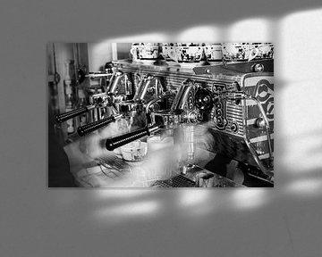 Cappuccino Machine van Daan Kloeg