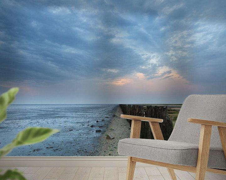 Sfeerimpressie behang: Cool place on a tropical day van Niels Heinis