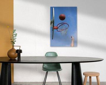 Buiten Basketballen van Berthilde van der Leij