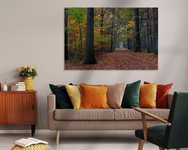 Sfeerimpressie: Fall Path In The Forest van William Mevissen