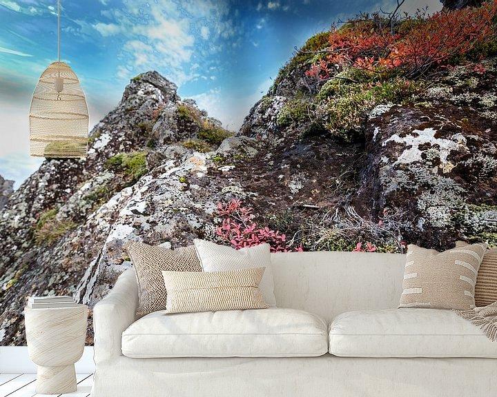 Beispiel fototapete: Herfst kleuren von John Groen