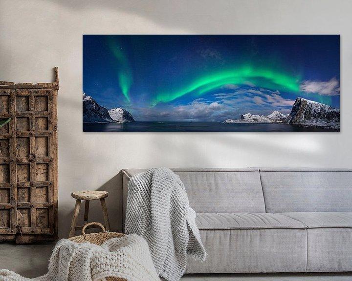 Sfeerimpressie: Flaget aurora van Wojciech Kruczynski