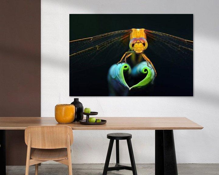 Sfeerimpressie: Dragonfly show love heart van Yuan Minghui